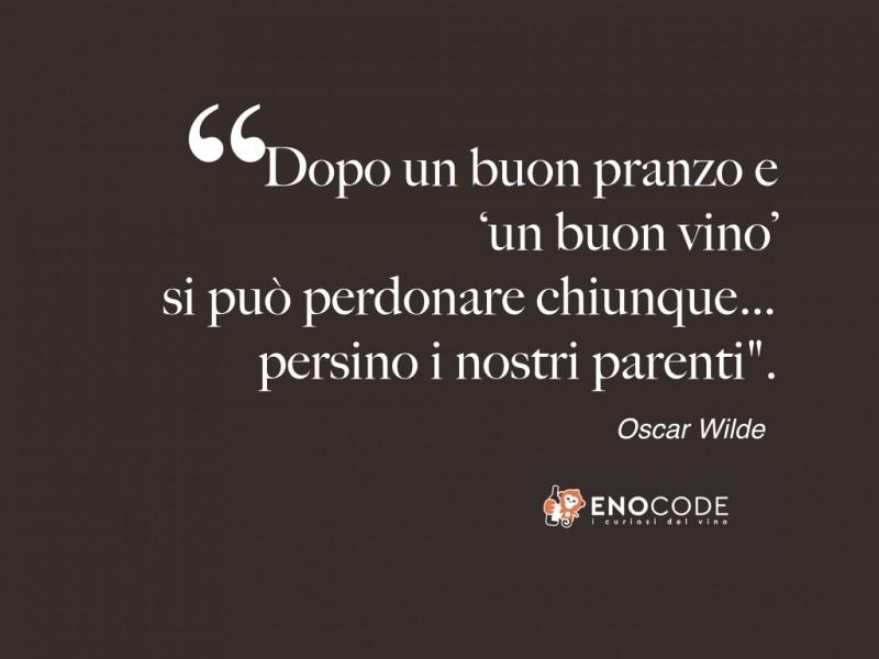 Aforismi con incursioni vinicole - Oscar Wilde, sul perdono a tavola