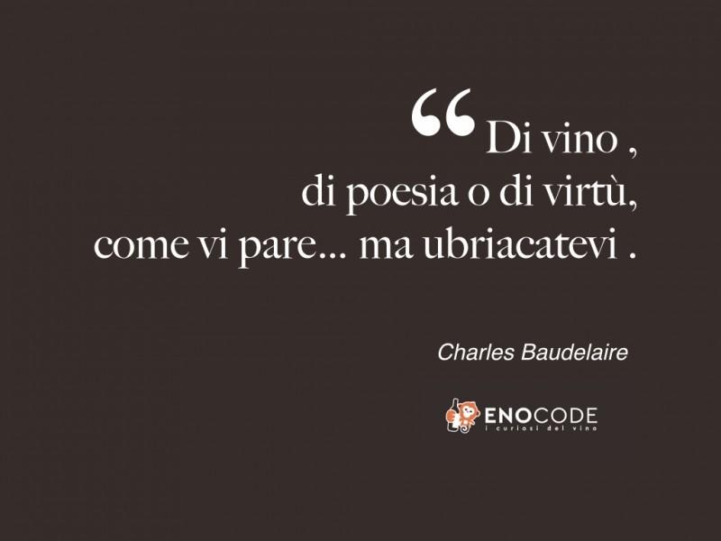 BUON 2017...VINO E VIRTÙ CHARLES BAUDELAIRE